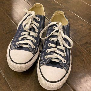 Converse All Star Navy Low Top